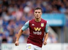 Frederic Guilbert makes debut for Aston Villa against Everton