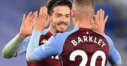 Ross Barkley Jack Grealish Aston Villa Leicester