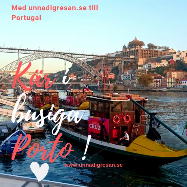 Kär i busiga Porto ! (1)