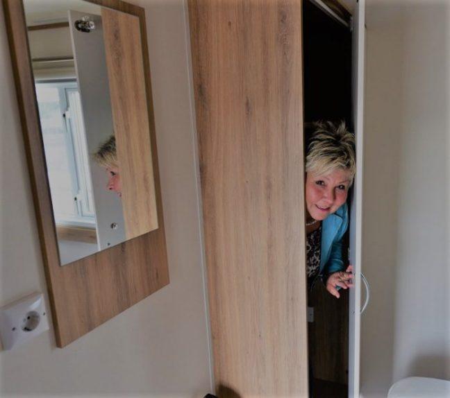 Annicka i garderob