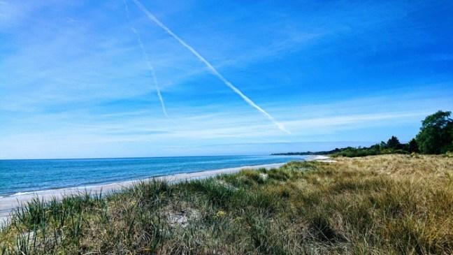 Stranden på Söderslätt