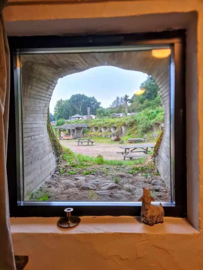 Utsikt från Sviten i Grottbyn