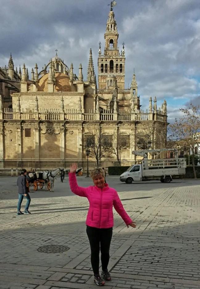 Annicka i Sevilla