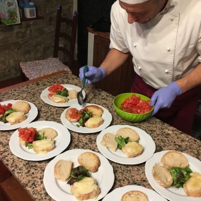 villa valentini private dinner May 2017