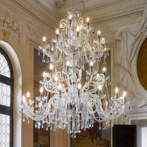 Villaverde London Corte Murano Chandelier Square