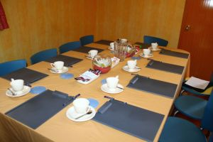 Closer look at the Function Room Table