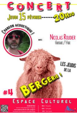 #4 JDLB NICOLAS ROUDIER - Affiche rouge