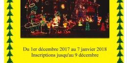 Concours des illuminations de Noël