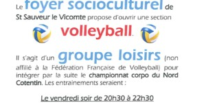 Reprise de volley