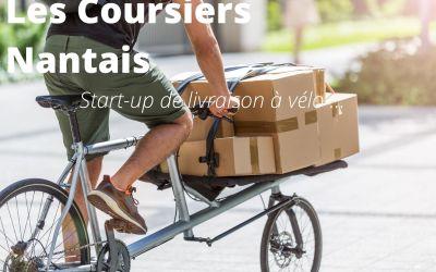 Quand le vélo s'invite dans le service de livraison, rencontre avec la coopérative «les Coursiers Nantais»