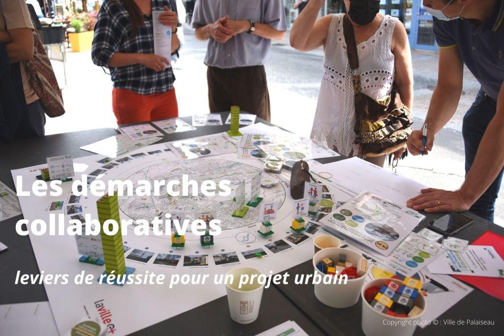 Groupe de personnes en démarche collaborative