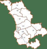 Plan cadastral de Villecomtal