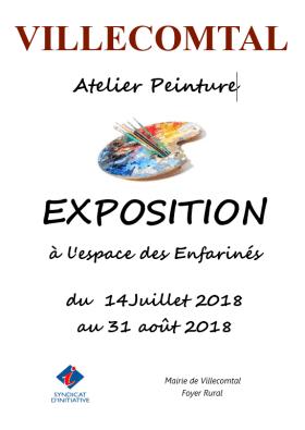 Exposition de peinture 2018
