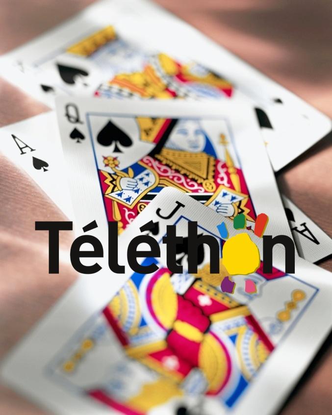 Concours de belote au profit du Téléthon