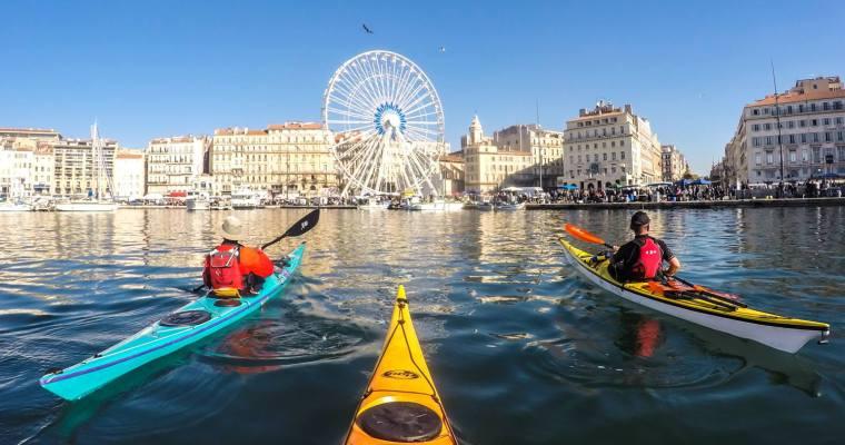 Marseille en kayak de mer.