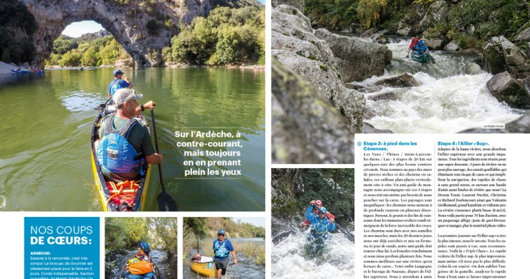 Grande Traversée : 18 pages de reportage dans Canoë Kayak Mag !
