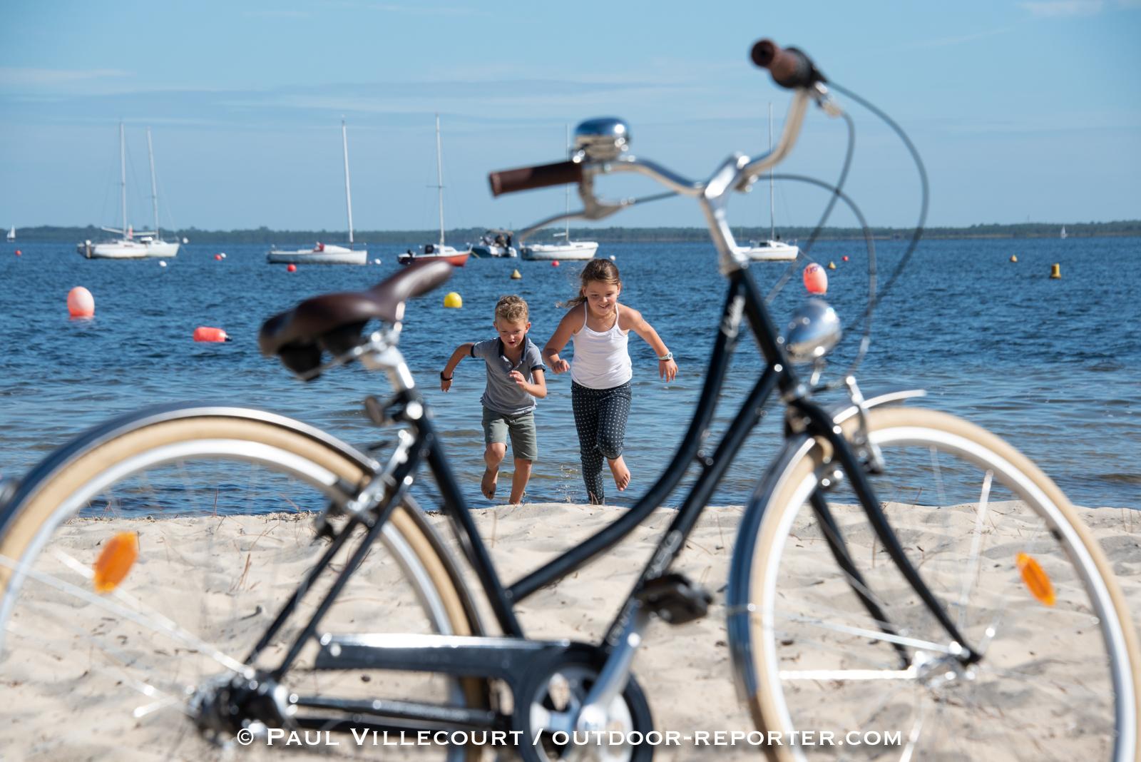 "Reportage ""Tour de Gironde"" à vélo."