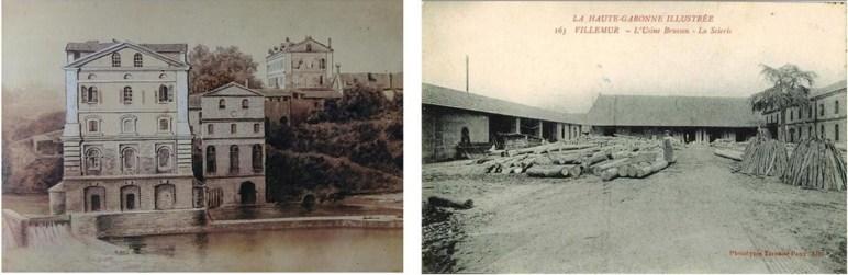 moulin et scierie