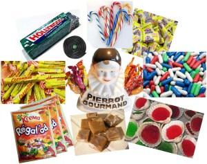 bonbons de notre enfance