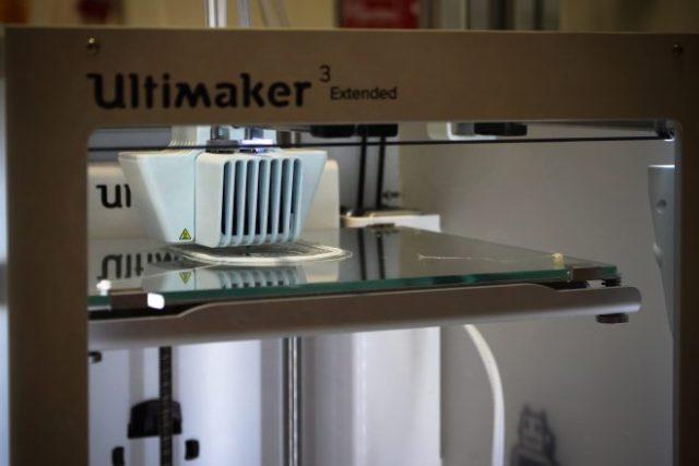3D-printterin lähikuva