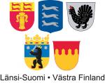 Länsi-Suomen viiden maakunnan vaakunat