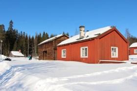 Byggnader på Gammlia i Umeå