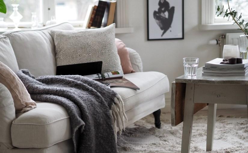 En förmiddag i soffan