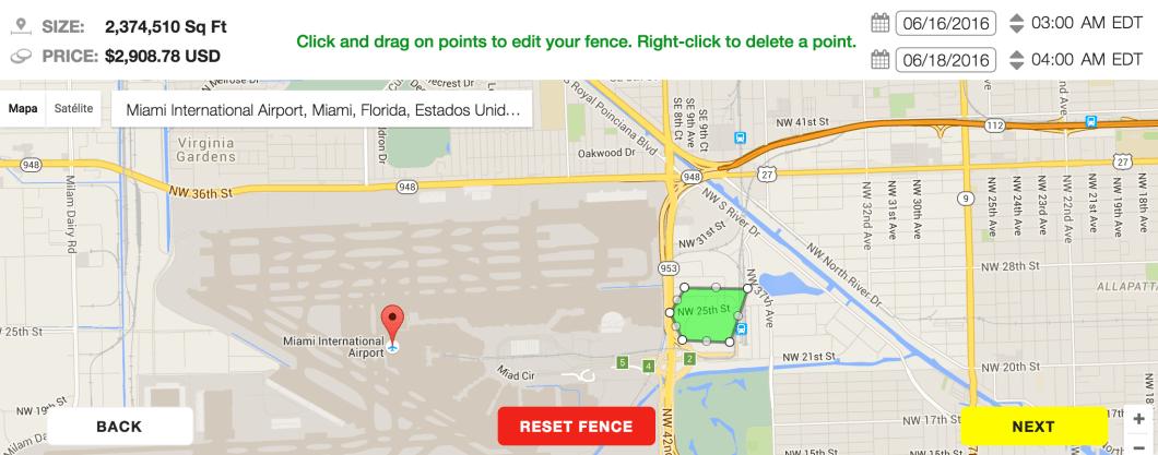 configurar en mapa geofiltro ondemand snapchat