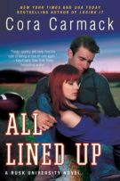 Review: All Lined Up (#1, Rusk University) by Cora Carmack