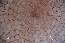 Dachkonus im ursprünglichen Zustand ohne Mörtel