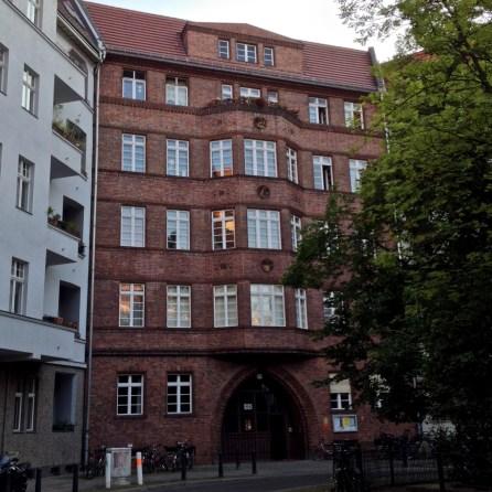 """Wohngebäude am Ende des """"Göhrener Eis"""""""
