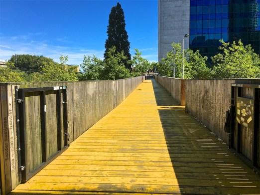 Brücke über die Schiekade