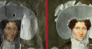 restauruotų kūrinių paroda