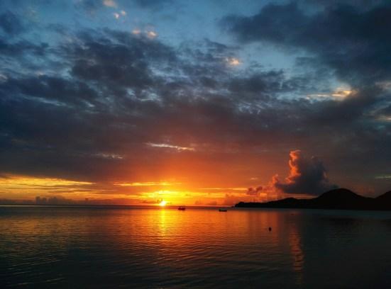 Solnedgång på Ishigaki, Okinawa - Resa till okinawa