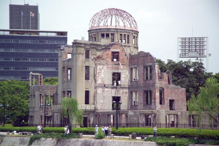 Hiroshima dome - japanska städer