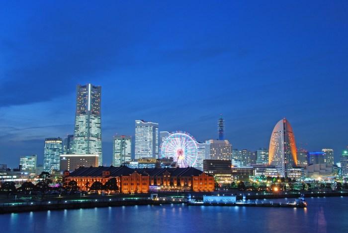 Yokoahama - japanska städer