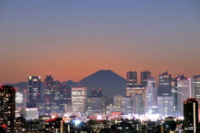 studera i japan för att se fuji i tokyo