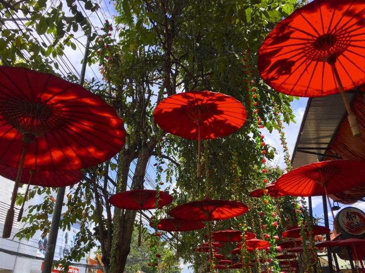 Katunäkymä Chiang Mai
