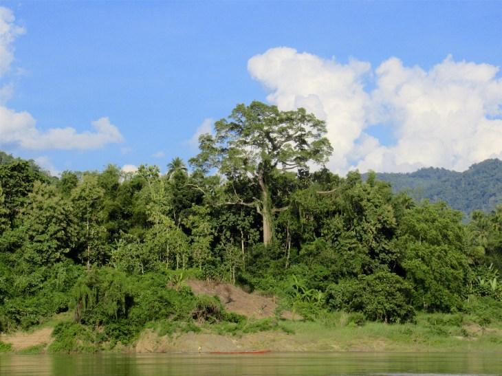 Maisemaa Mekong-joki