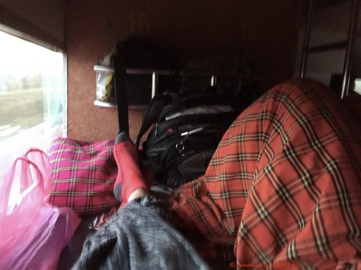 Sleeping buss