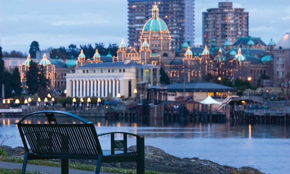 Victoria BCs Spectacular Inner Harbour Gateway To The