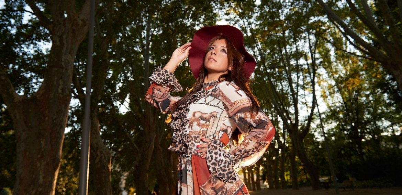 Roberto Cavalli vs Babylon: Vintage Maxi Dress