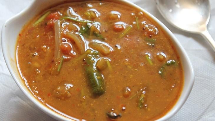 Sambar recipe, easy sambar recipe, thick sambar recipe, quick sambar recipe, kerala nadan recipe