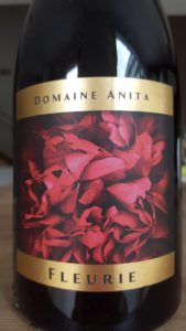 Etiquette du Fleurie - Domaine Anita