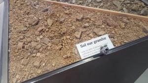 Sol du Beaujolais sur granite