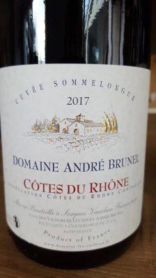 Côte du Rhône Sommelongue Domaine les Cailloux