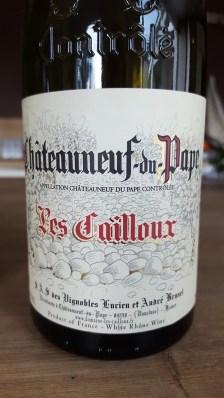 Chateauneuf-du-Pape Les Cailloux blanc