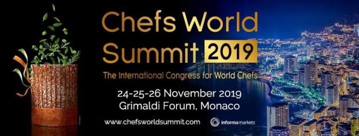 Chefsworld Summit   24  25  26 November 2019 In Monaco