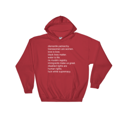 I Stand For Hooded Sweatshirt
