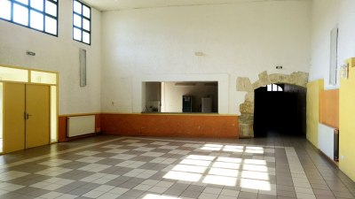 comptoir salle des fêtes de Vinassan